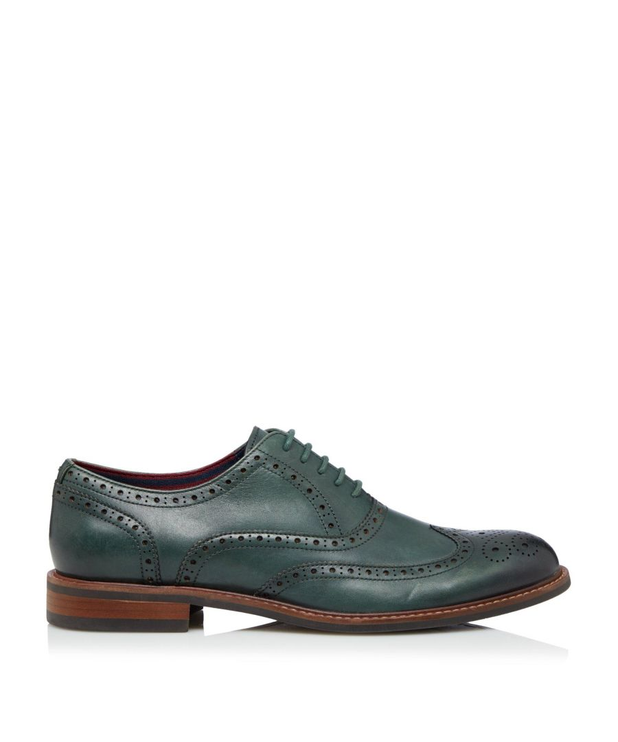 Image for Dune Mens POLLODIUM Heavy Brogue Shoes