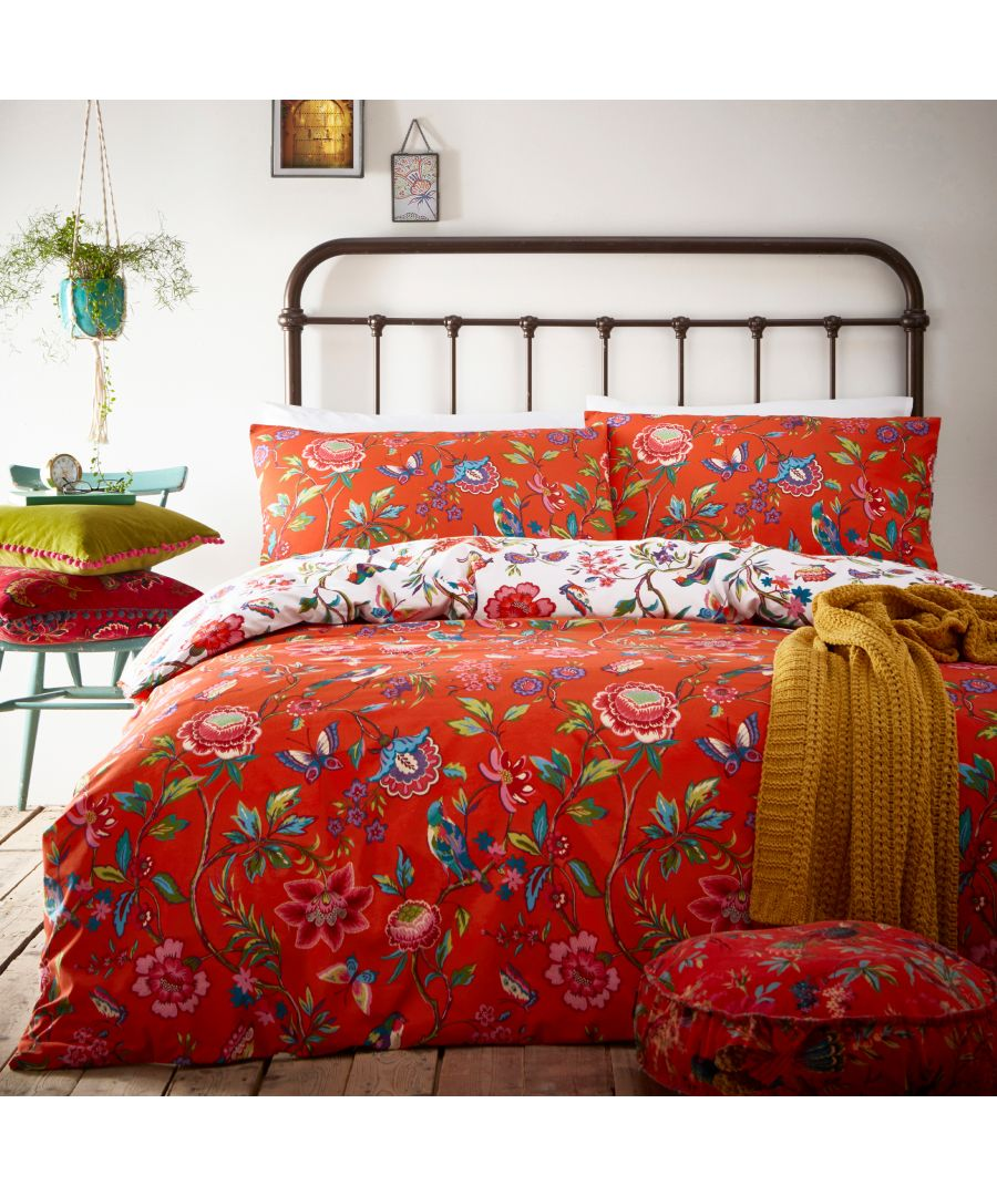 Image for Pomelo Duvet Set Orange