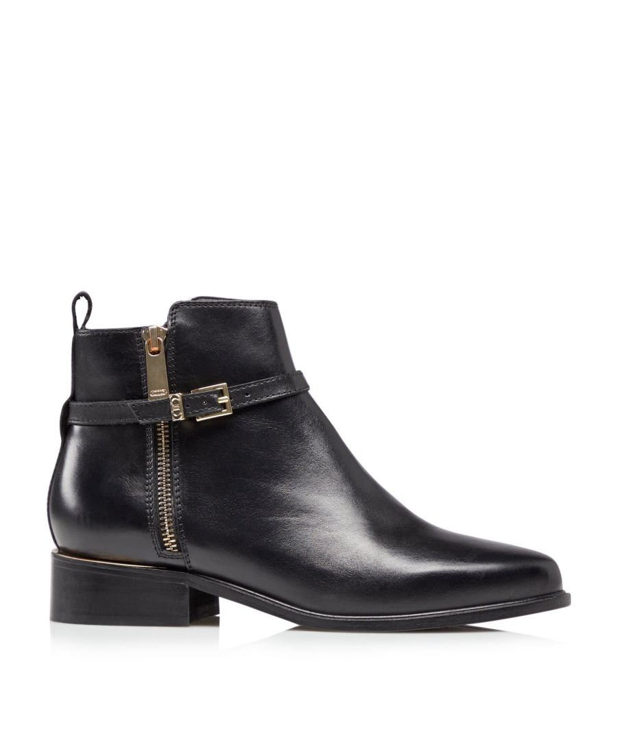 Image for Dune Ladies POP Buckle Trim Ankle Boots