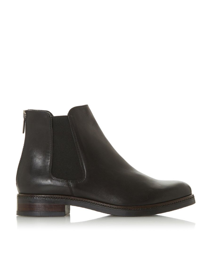 Image for Dune Ladies PORTEAU Zip-Up Ankle Boots