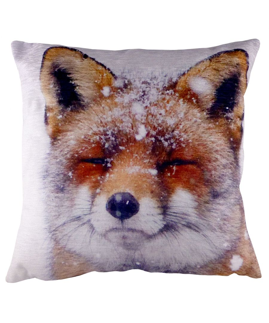 Image for Portrait Fox Cushion