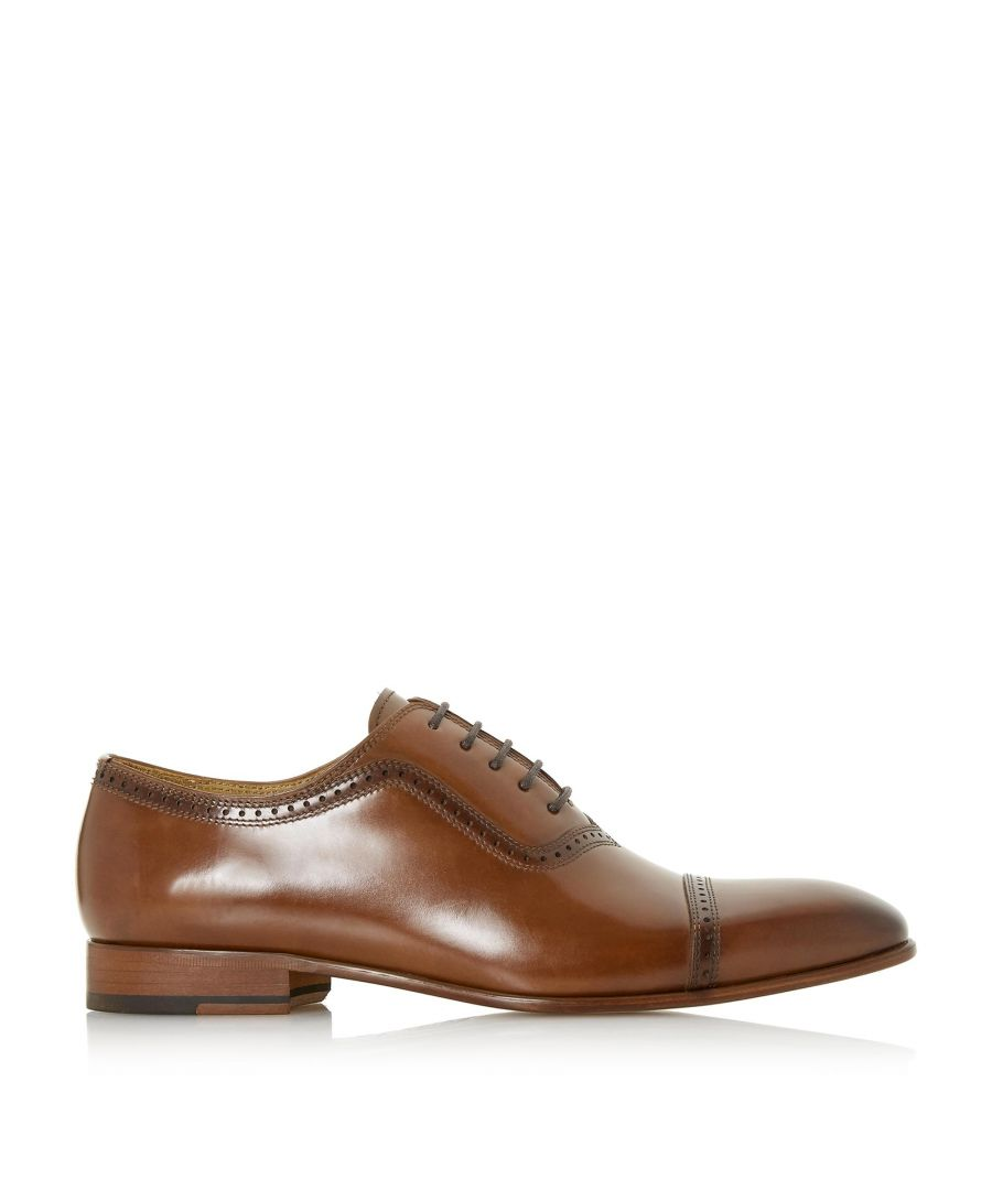 Image for Dune Mens POSTIGA Punched Toe Smart Oxford Shoes