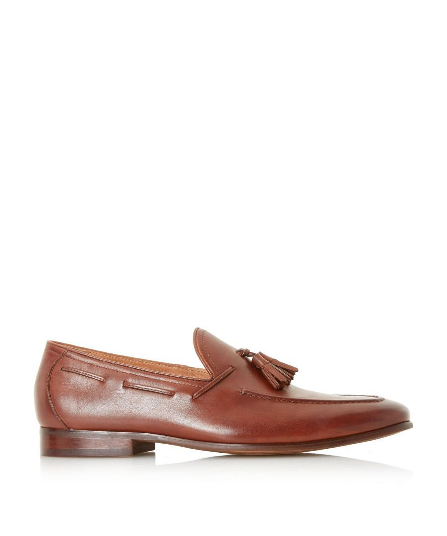Image for Dune Mens POSTORY Unlined Tassel Loafer Shoes