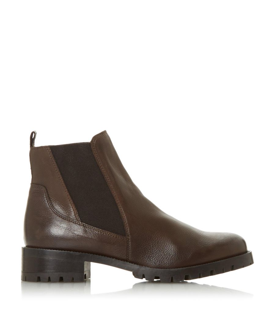 Image for Dune Ladies POWERFUL Block Heel Chelsea Ankle Boots