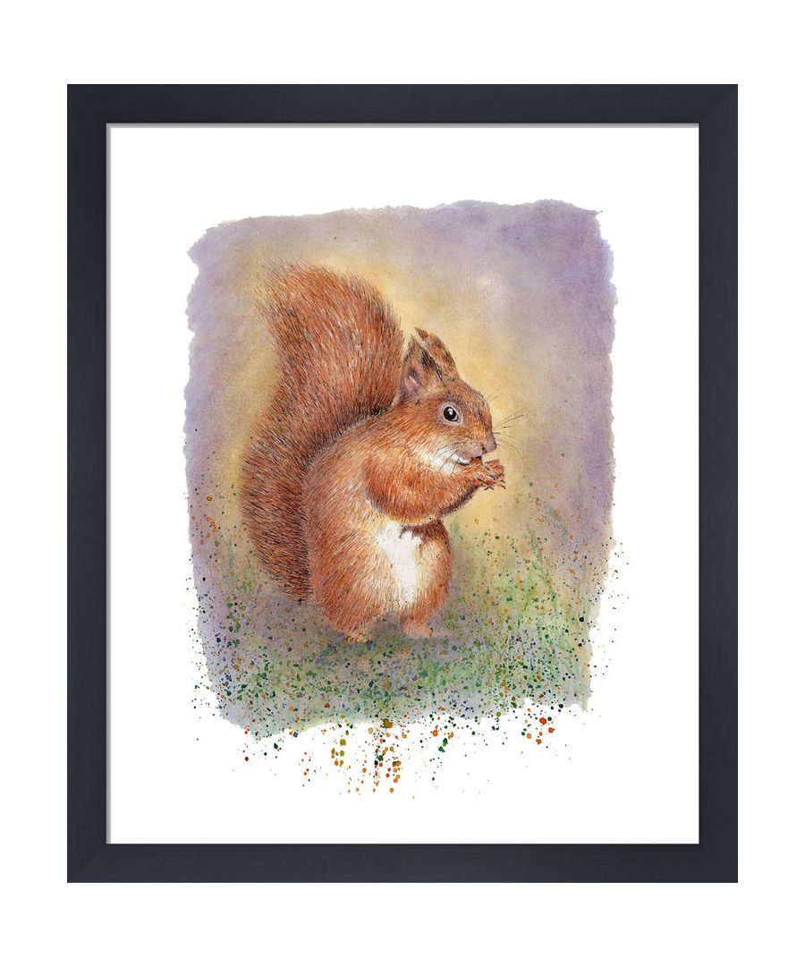 Image for Squirrel by Clare Thompson Wildlife Art Print