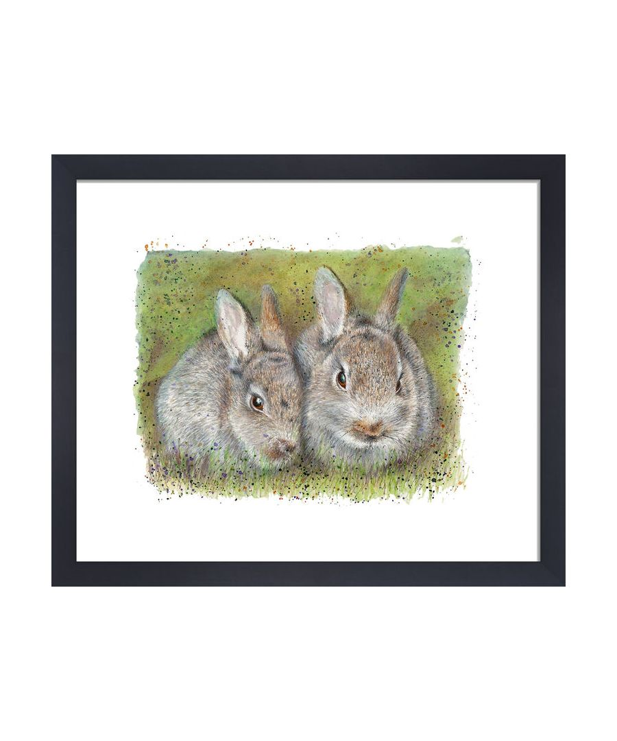 Image for Rabbits by Clare Thompson Wildlife Art Print
