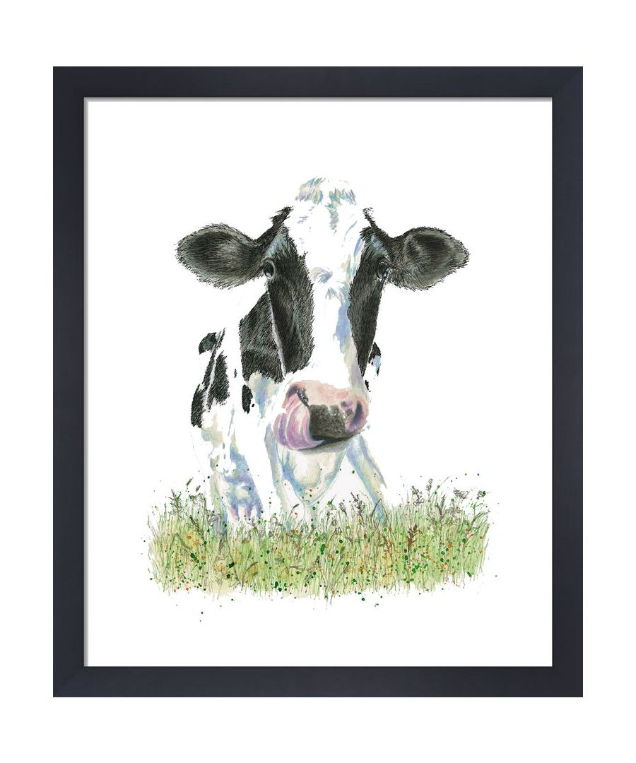 Image for Cow by Clare Thompson Wildlife Art Print