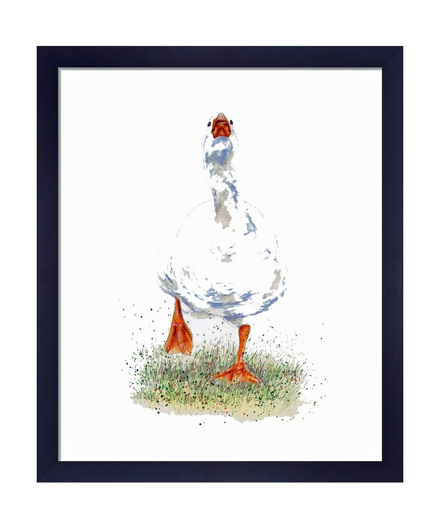 Image for Goose by Clare Thompson Wildlife Art Print