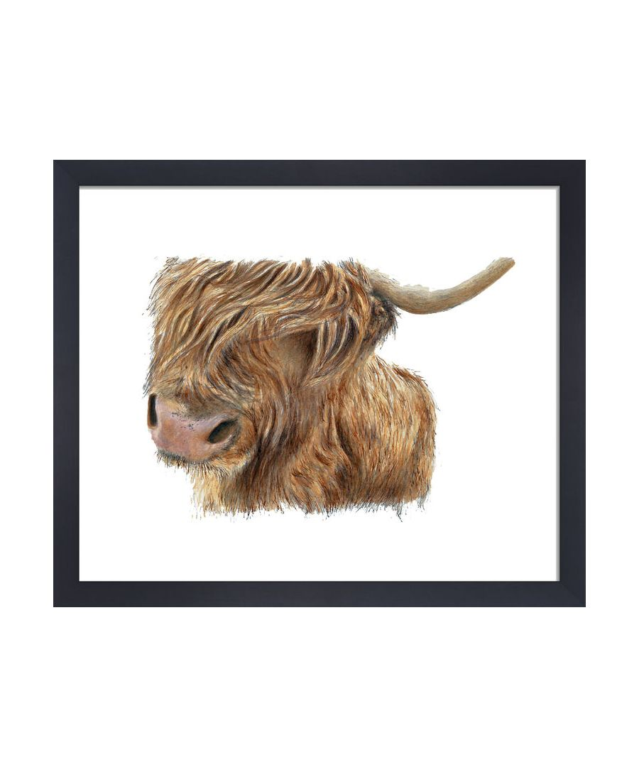 Image for Highland Cow by Clare Thompson Wildlife Art Print