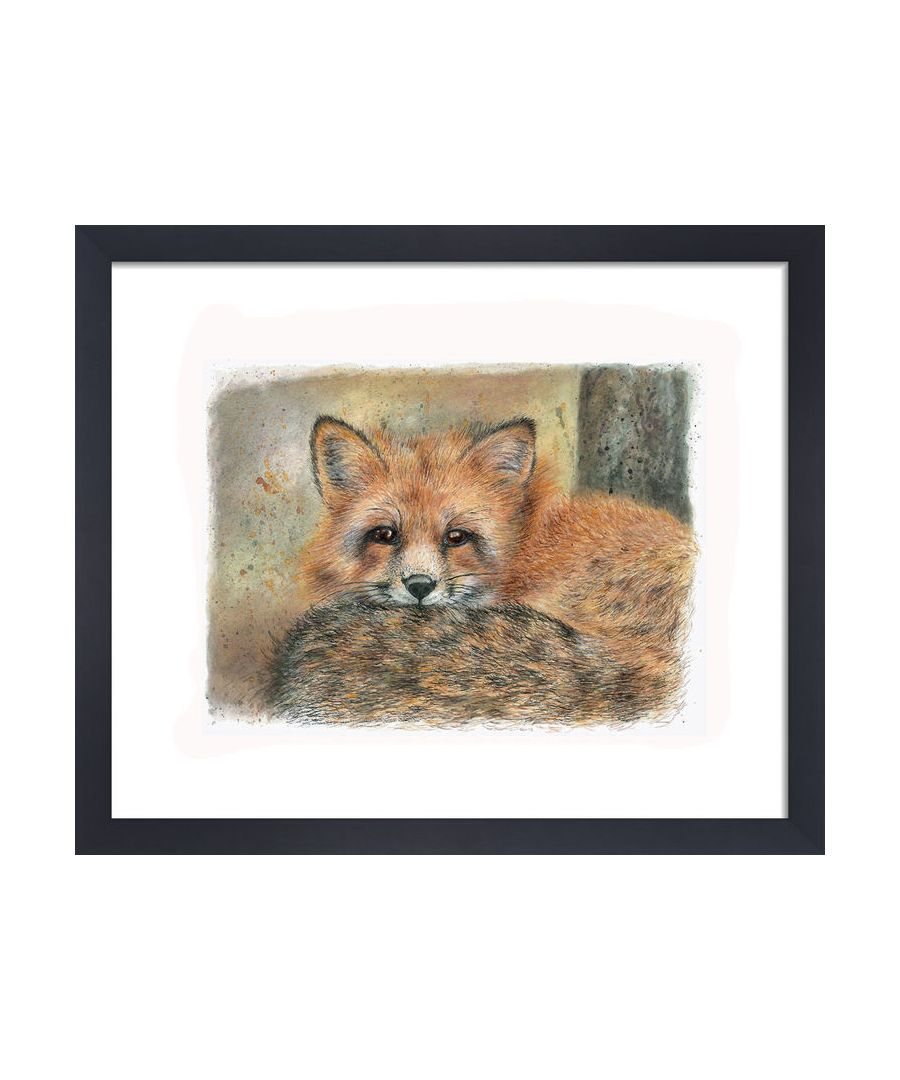 Image for Fox by Clare Thompson Wildlife Art Print