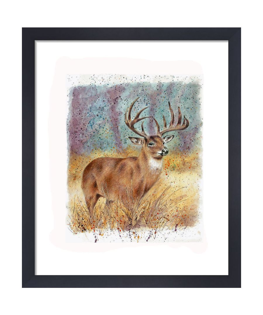 Image for Deer by Clare Thompson Wildlife Art Print