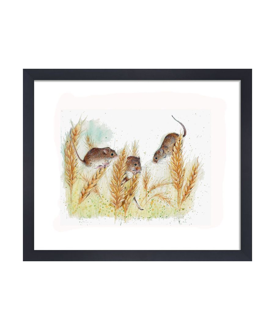 Image for Field Mice by Clare Thompson Wildlife Art Print