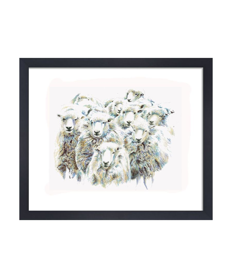 Image for Sheep by Clare Thompson Wildlife Art Print