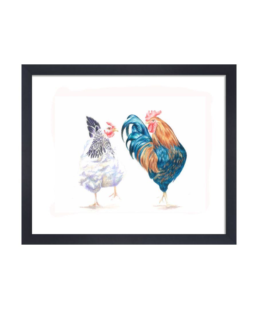 Image for The Peckhams by Clare Thompson Wildlife Art Print