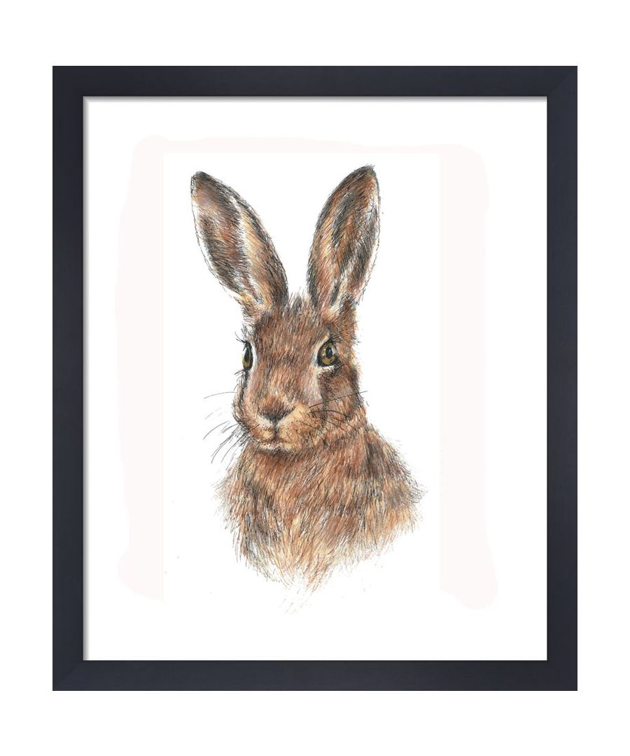 Image for Hare by Clare Thompson Wildlife Art Print