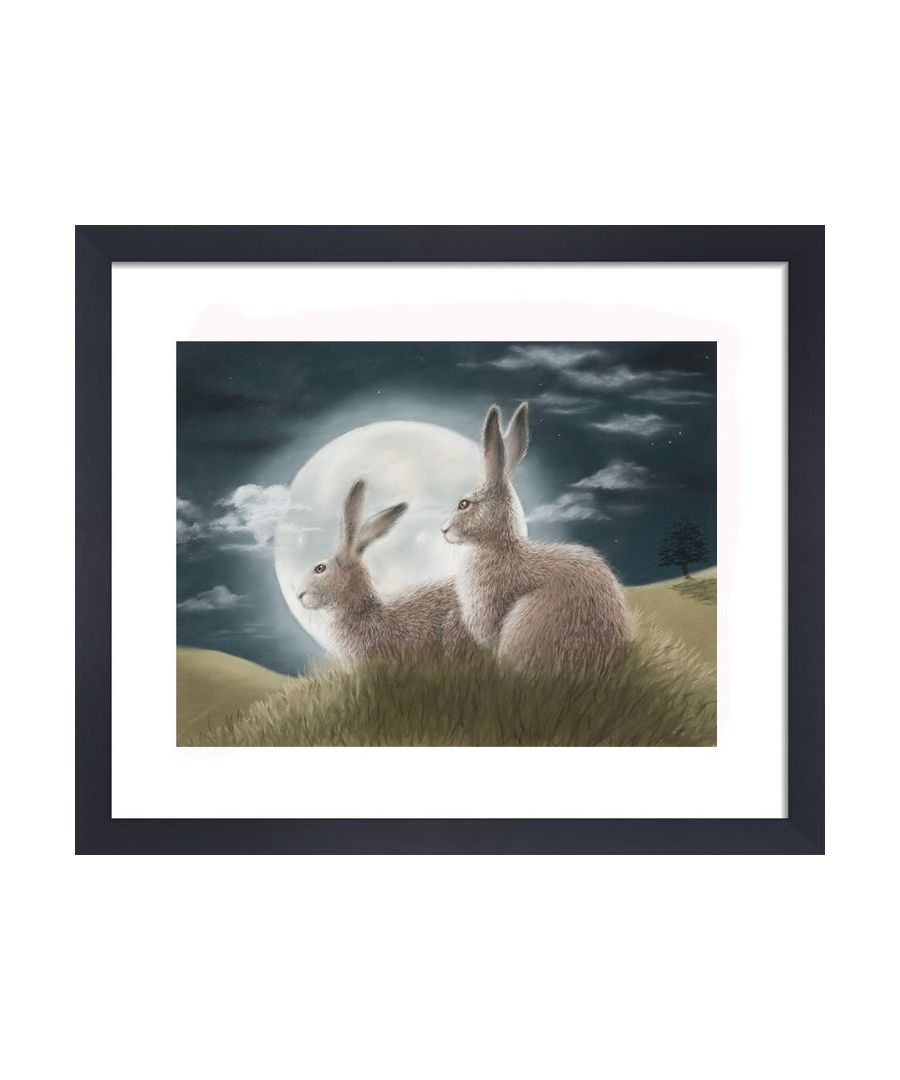 Image for Moongazers by Clare Thompson Wildlife Art Print