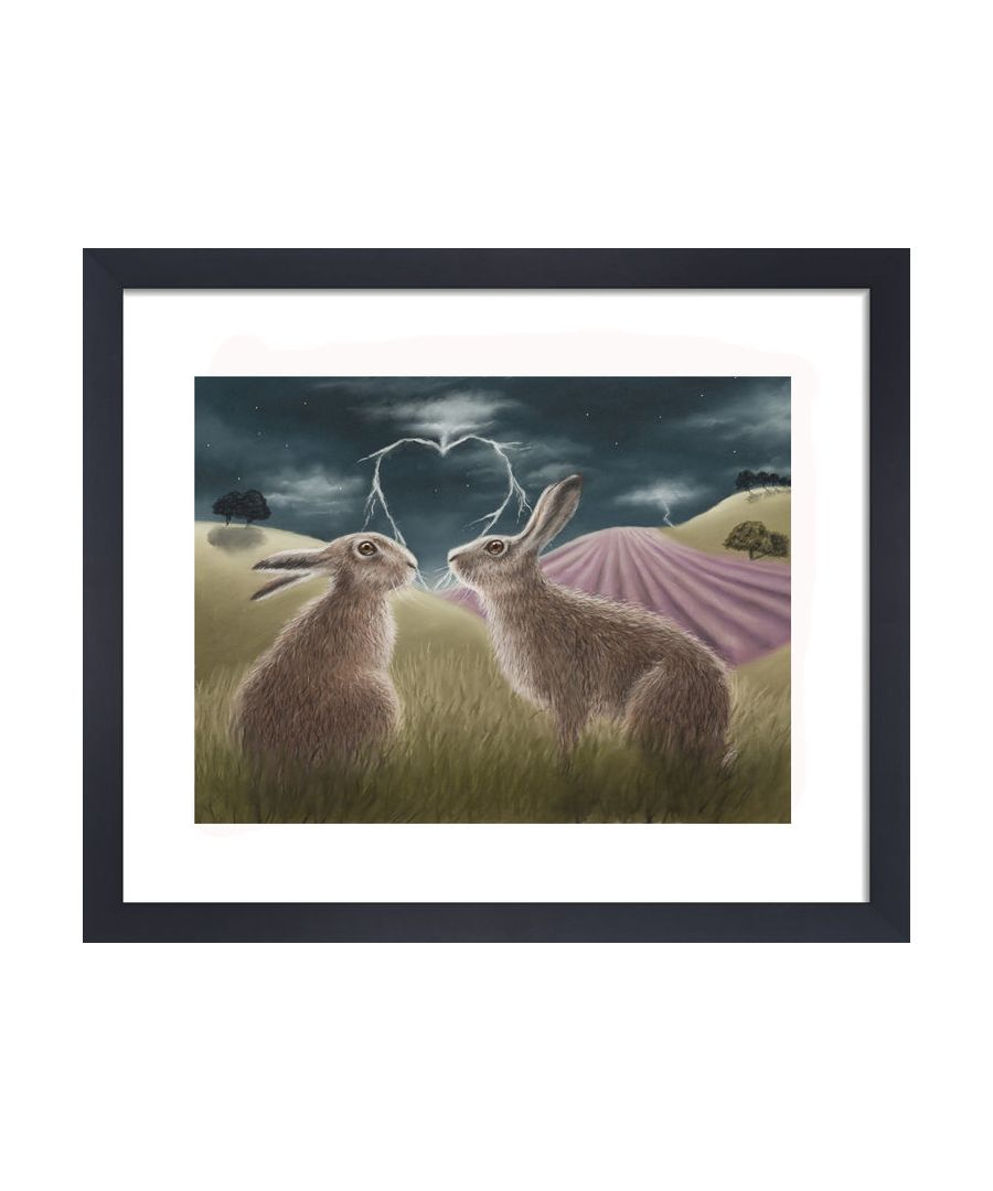 Image for Lovestruck by Clare Thompson Wildlife Art Print
