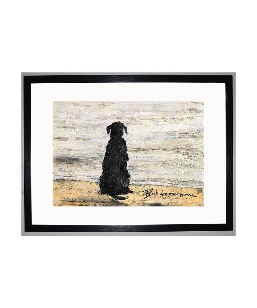 Image for Black Dog Going Home by Sam Toft