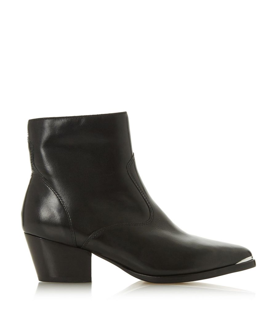 Image for Dune Ladies PRAIRRIE Western Ankle Boots