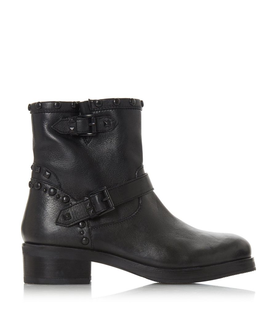 Image for Bertie Ladies Prescot Buckle Biker Boots