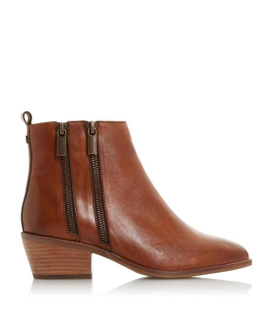 Image for Dune Ladies PRESLEIGH JL Four Zip Ankle Boots