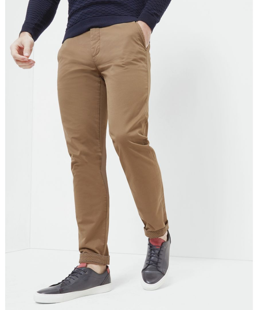 Image for Ted Baker Procor Slim Fit Chinos, Tan