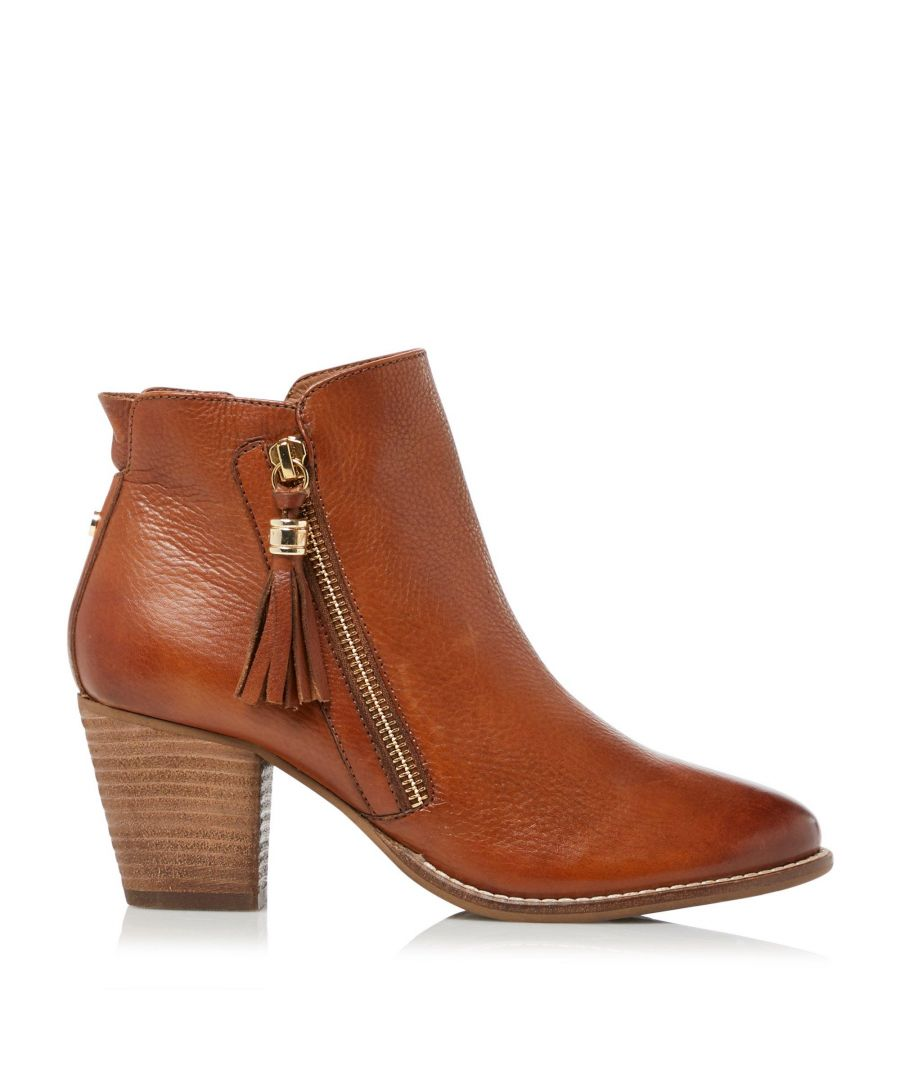 Image for Dune Ladies PROFOUND Zip Up Tassel Ankle Boots