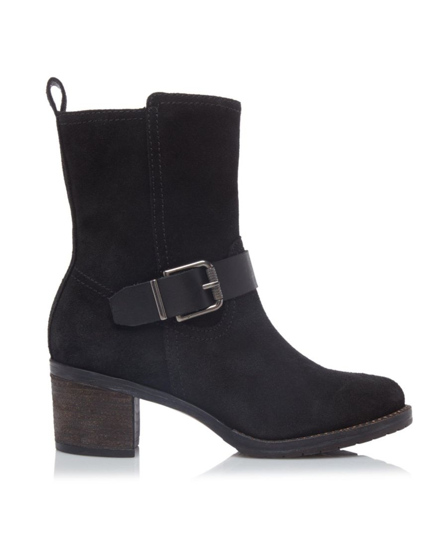 Image for Dune Ladies PUMPKINS Buckle Detail Ankle Boots