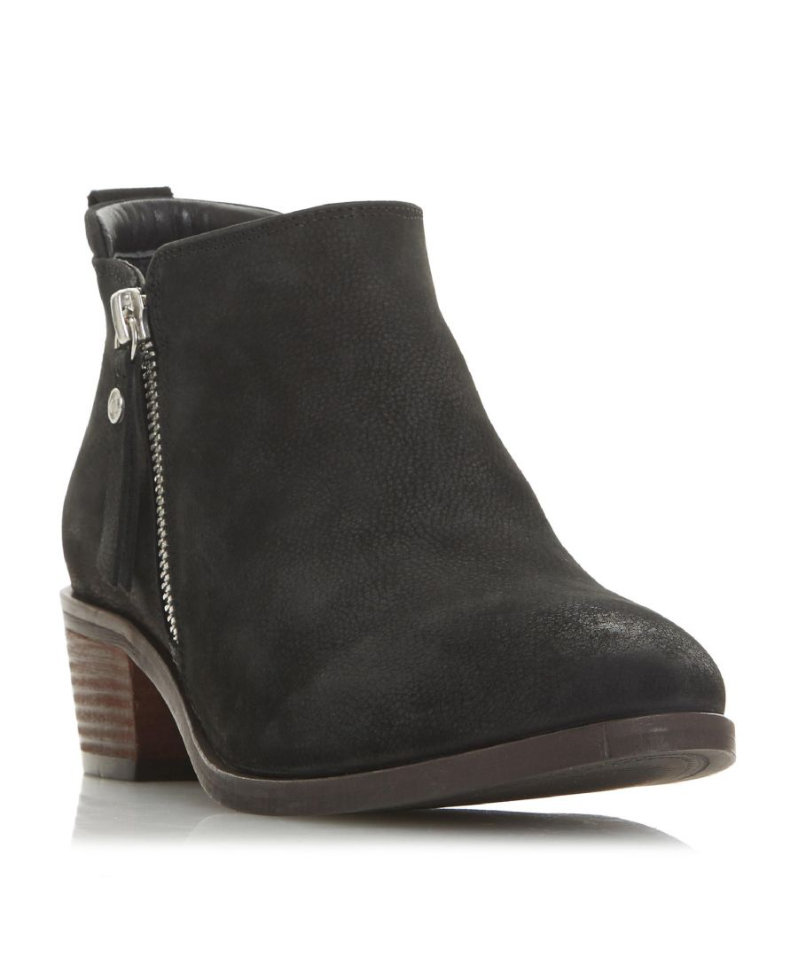 Image for Dune Ladies PUTNAM Cropped Ankle Boots