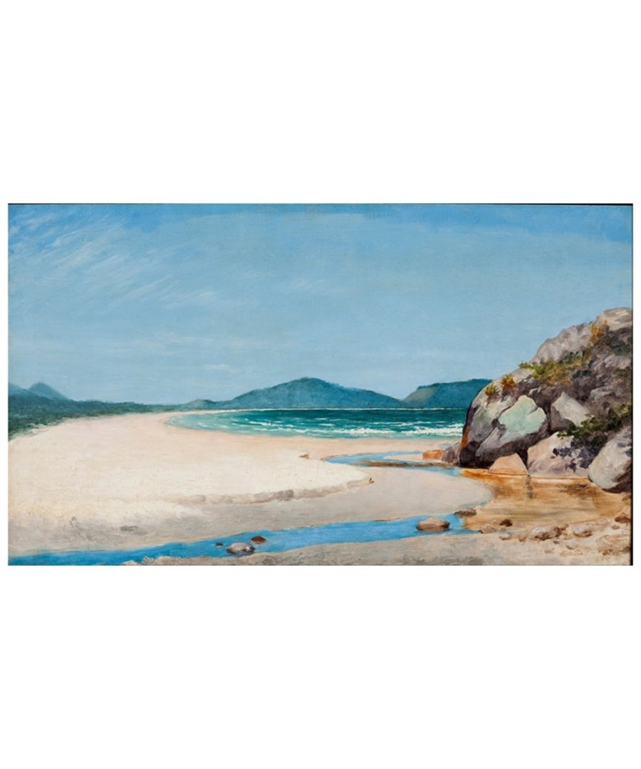 Image for Canvas Print - Seascape, Guarujá - Almeida Júnior - Cm. 50x80