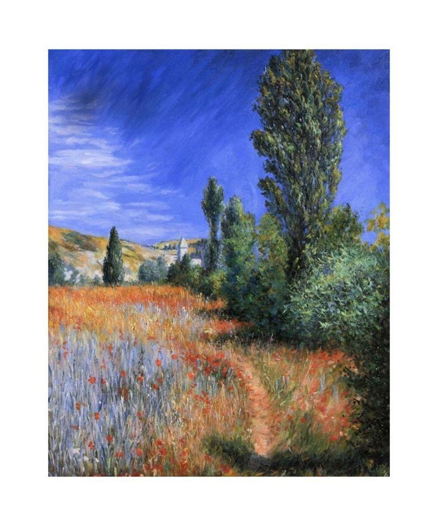 Image for Canvas Print - Landscape On The Isle Saint-Martin - Claude Monet Cm. 80x100