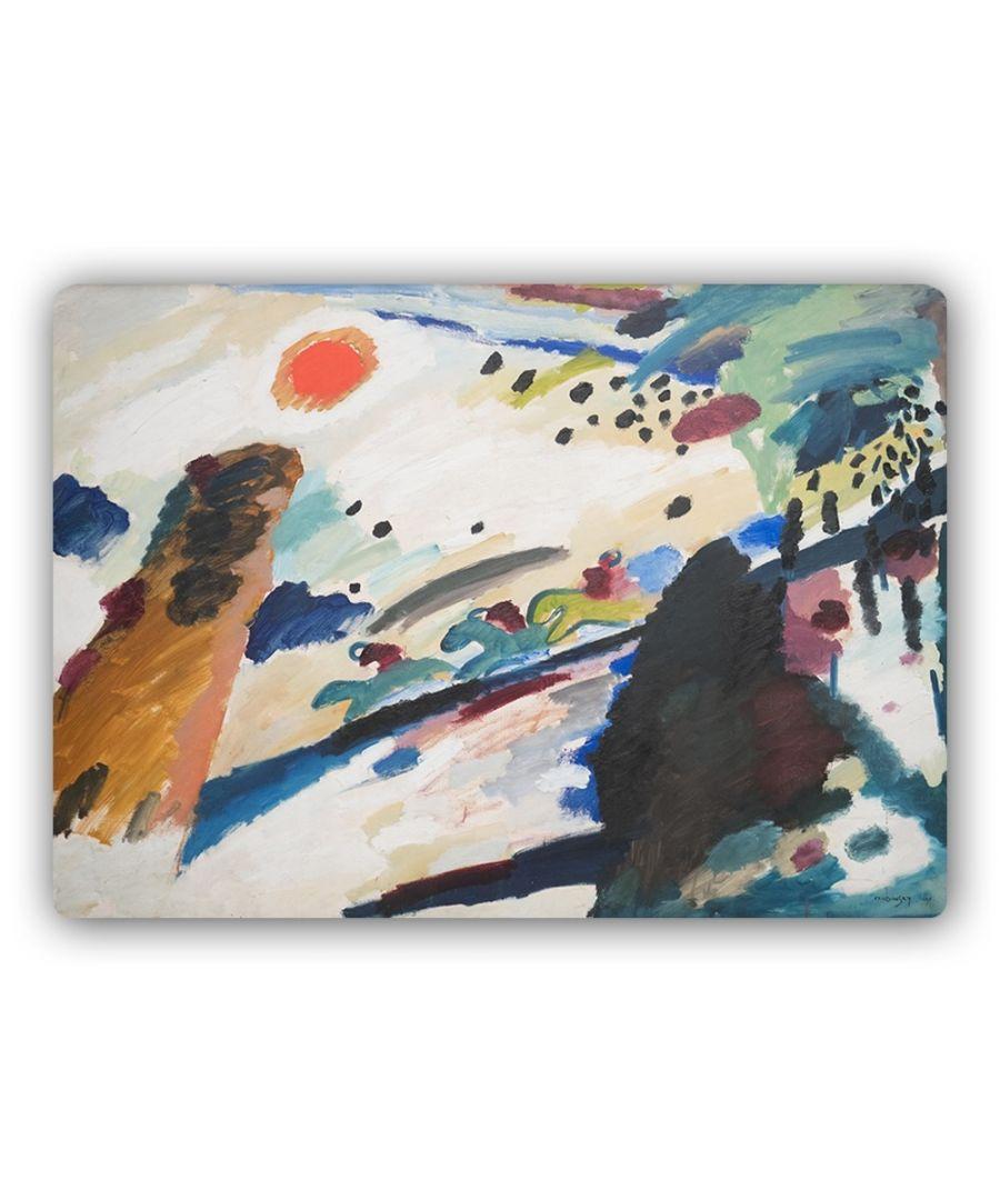 Image for Metal Print - Romantic Landscape - Wassily Kandinsky