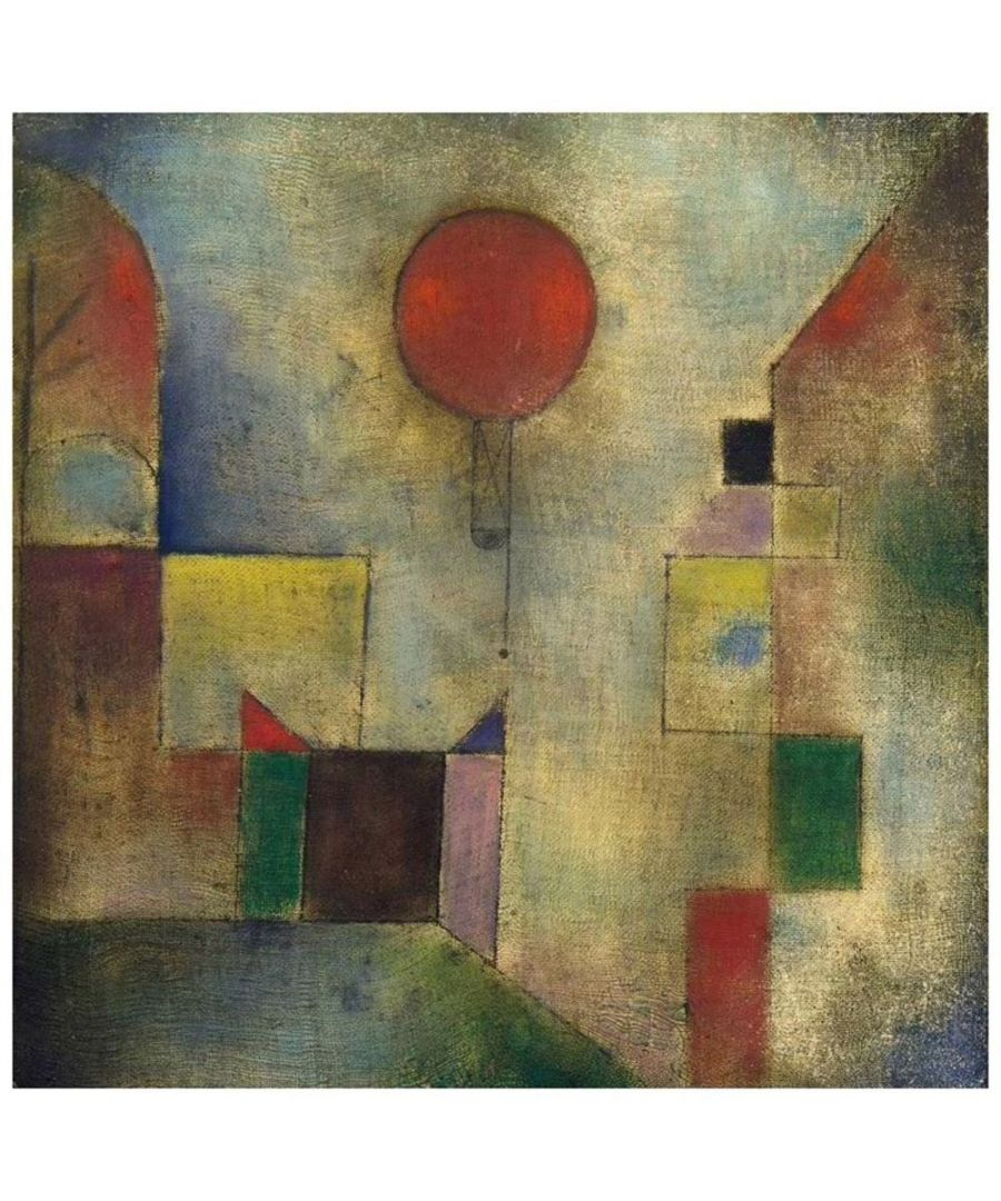 Image for Canvas Print - Red Baloon - Paul Klee Cm. 60x60