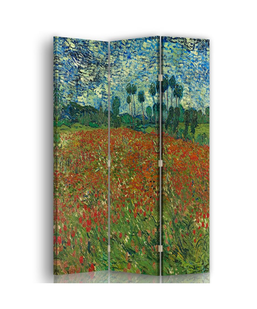 Image for Poppy Field - Room Divider - Vincent Van Gogh