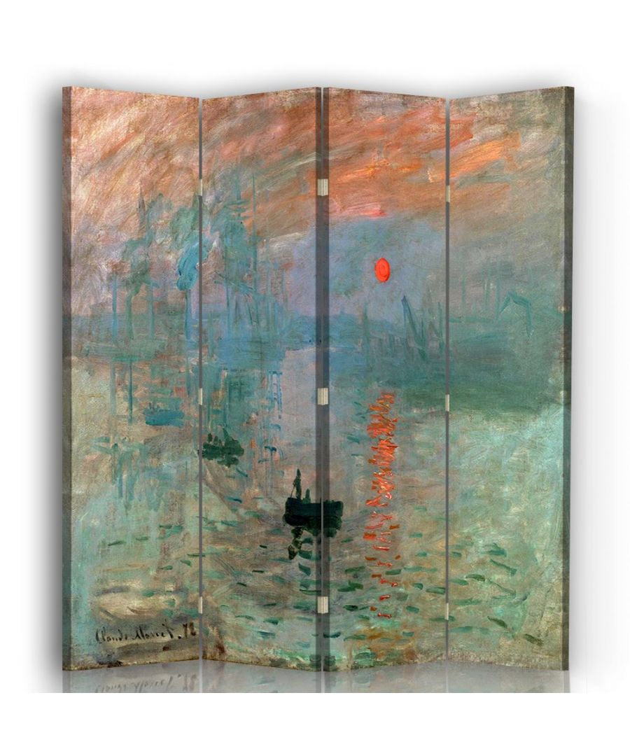 Image for Impression. Sunrise - Room Divider - Claude Monet