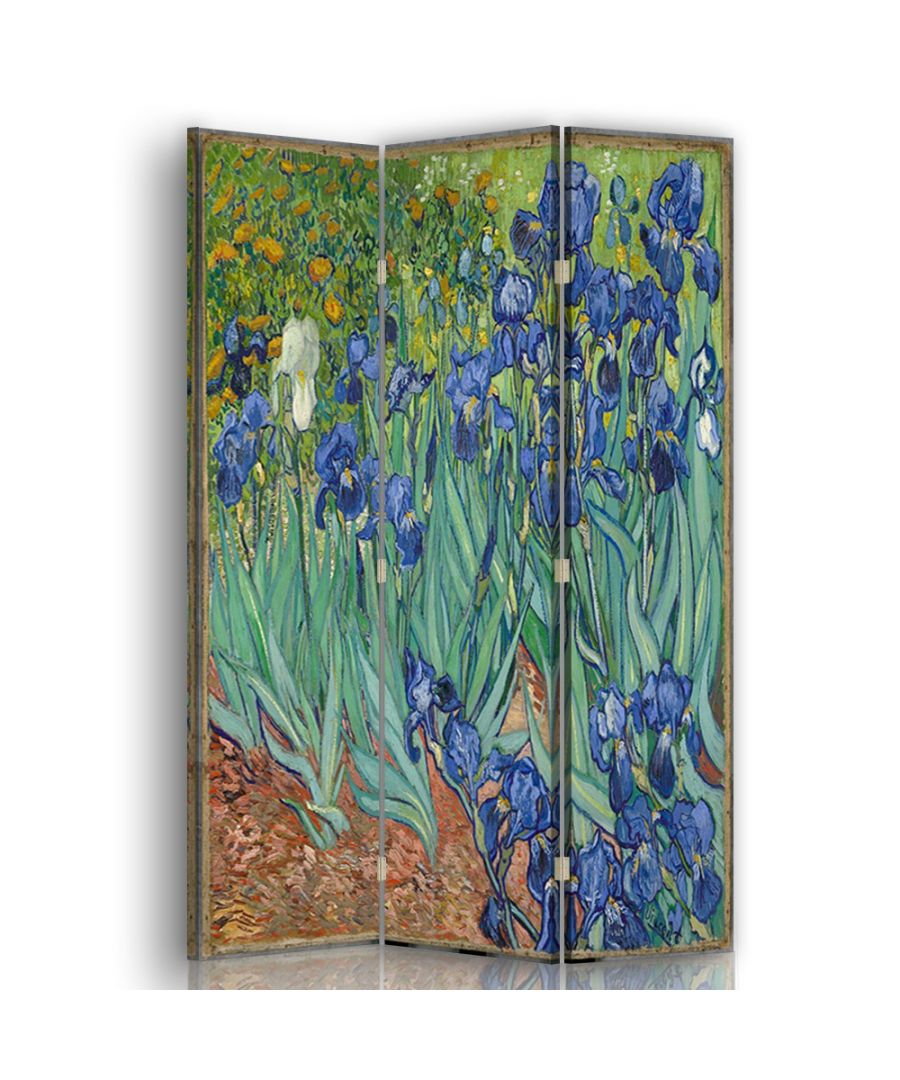 Image for Iris - Room Divider - Vincent Van Gogh