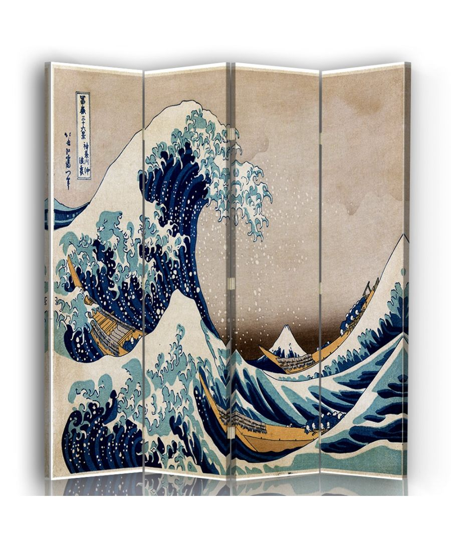 Image for The Great Wave of Kanagawa - Room Divider - Katsushika Hokusai