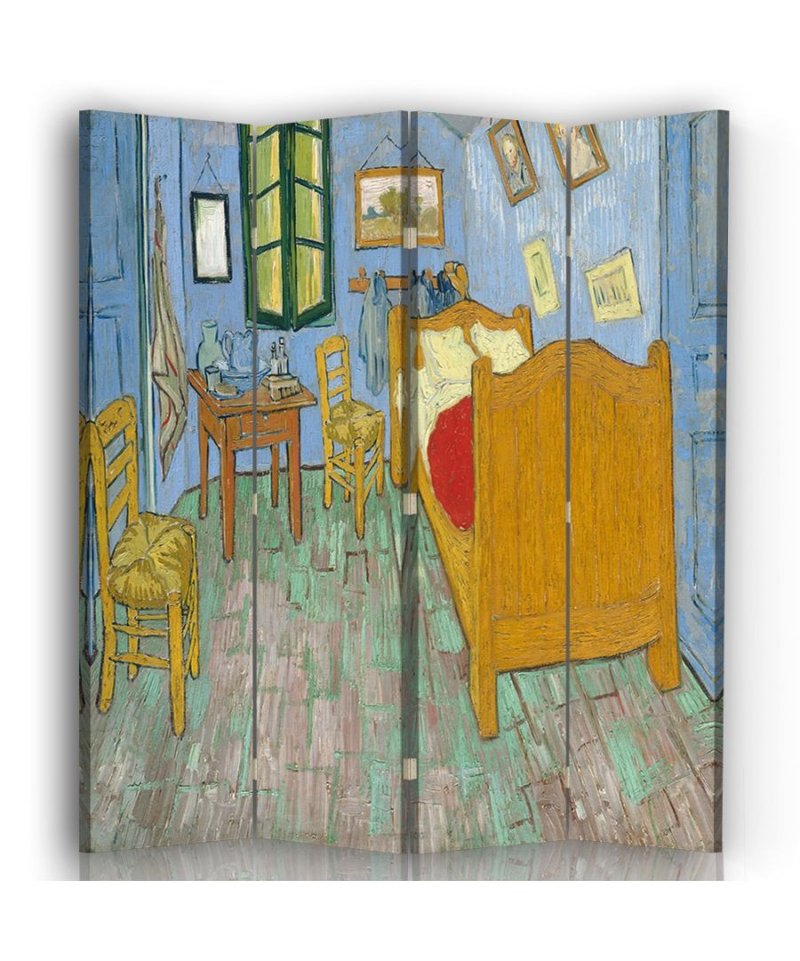 Image for Vincent's Bedroom in Arles - Room Divider - Vincent Van Gogh