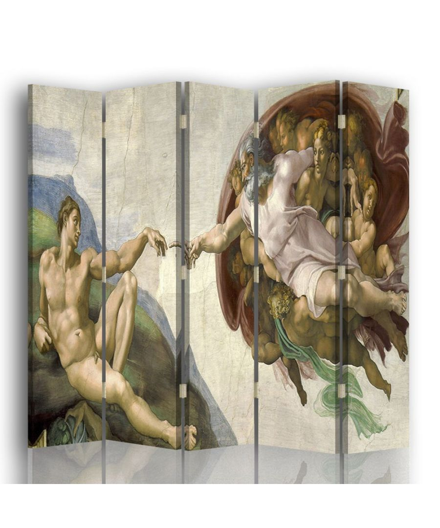Image for The Creation of Adam - Room Divider - Michelangelo Buonarroti