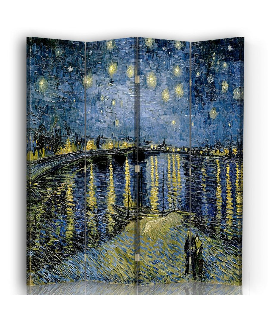 Image for Starry night over the Rhone - Room Divider - Vincent Van Gogh