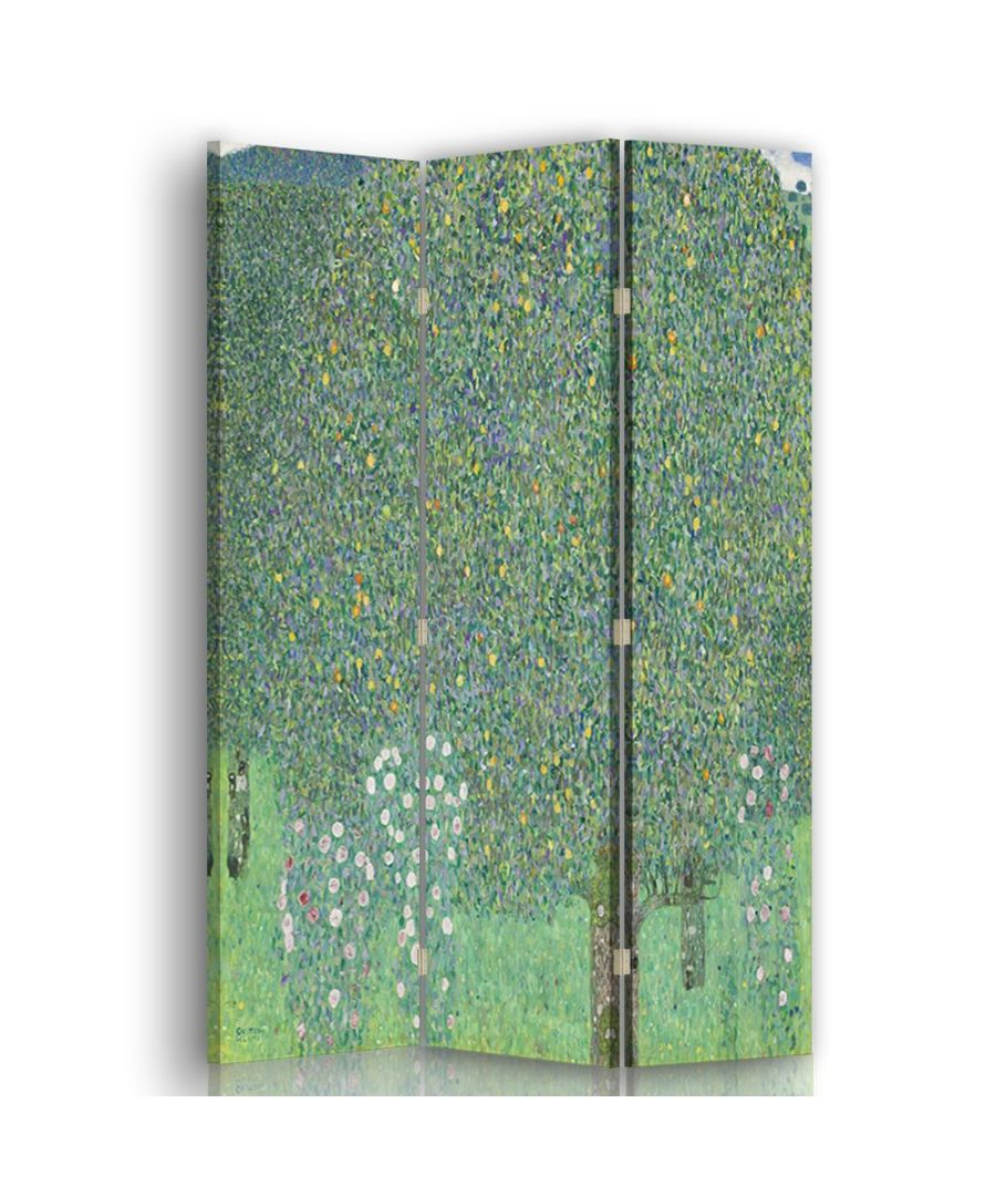 Image for Rosebushes under the Trees - Room Divider - Gustav Klimt