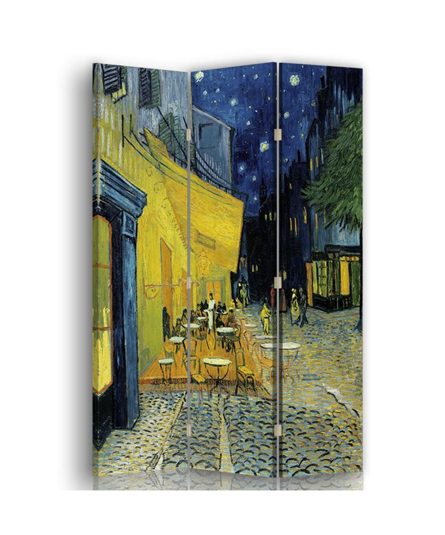 Image for Café Terrace at Night - Room Divider - Vincent Van Gogh