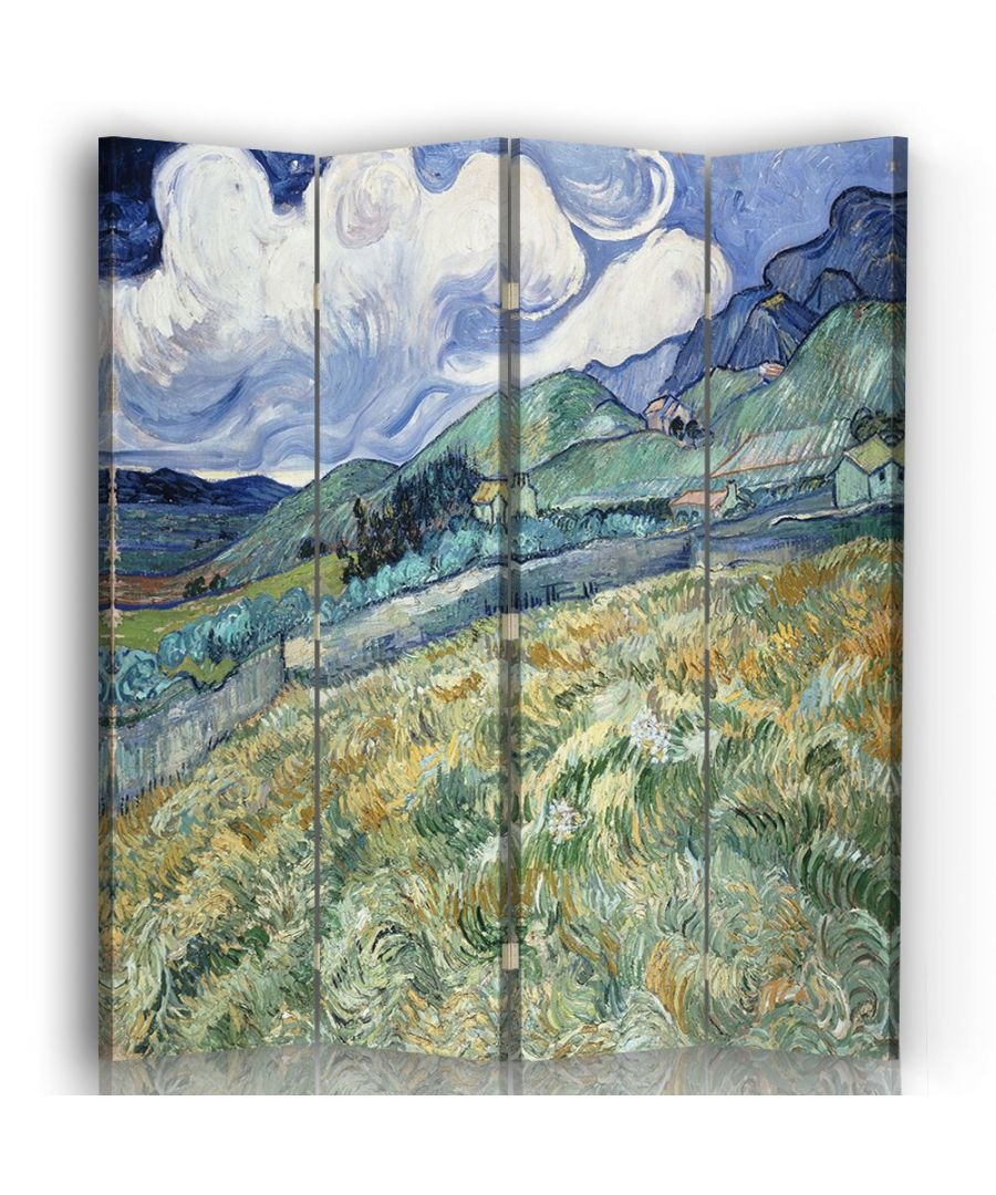 Image for Landscape from Saint-Rémy - Room Divider - Vincent Van Gogh