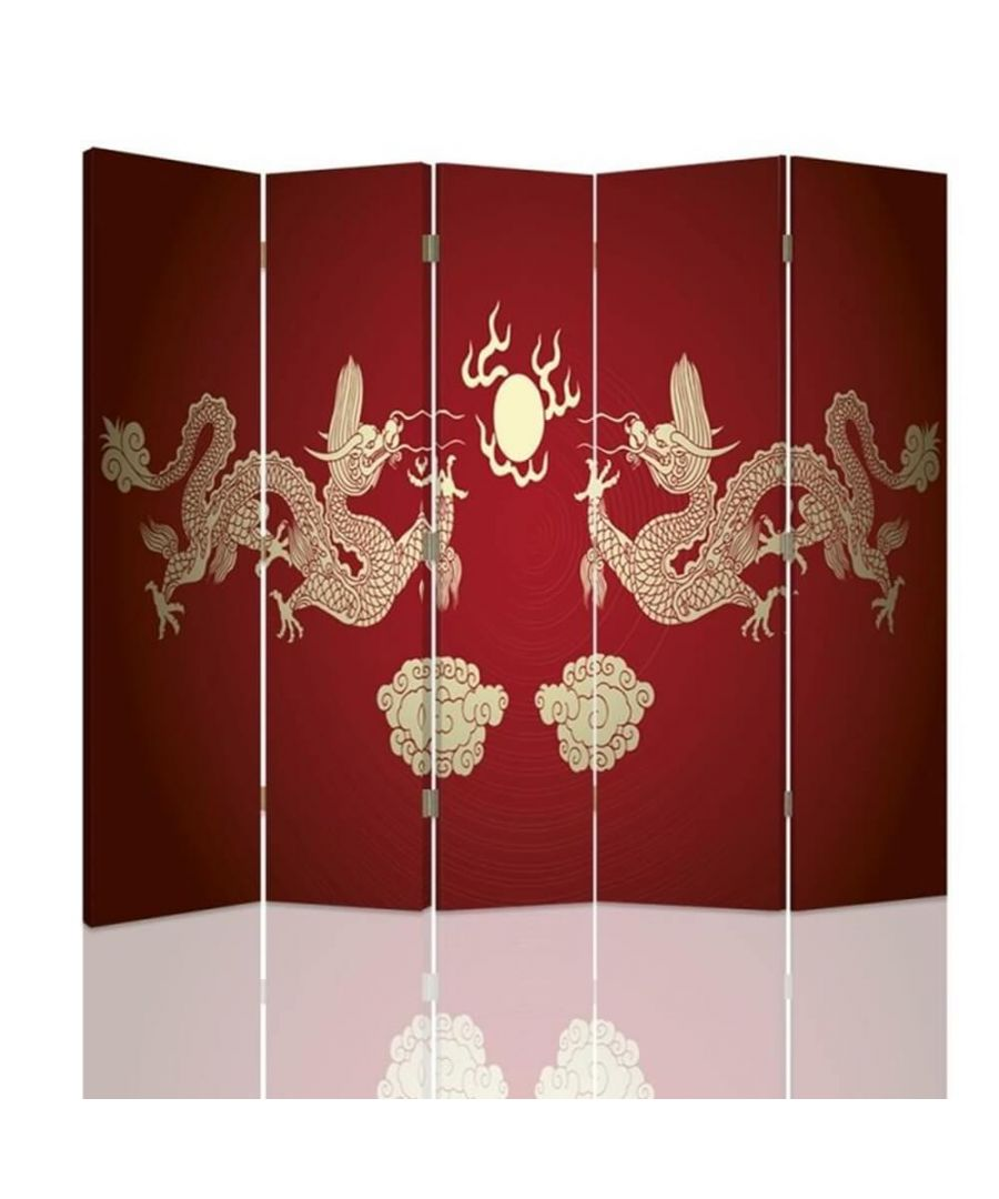 Image for Chinese Dragon - Room Divider