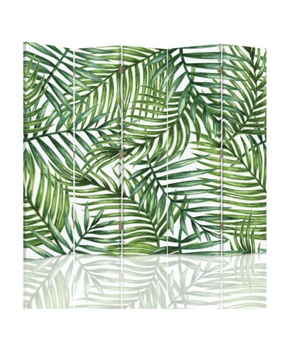 Image for Room Divider Jungle Canopy - Indoor Decorative Canvas Screen cm. 180x180 (5 panels)