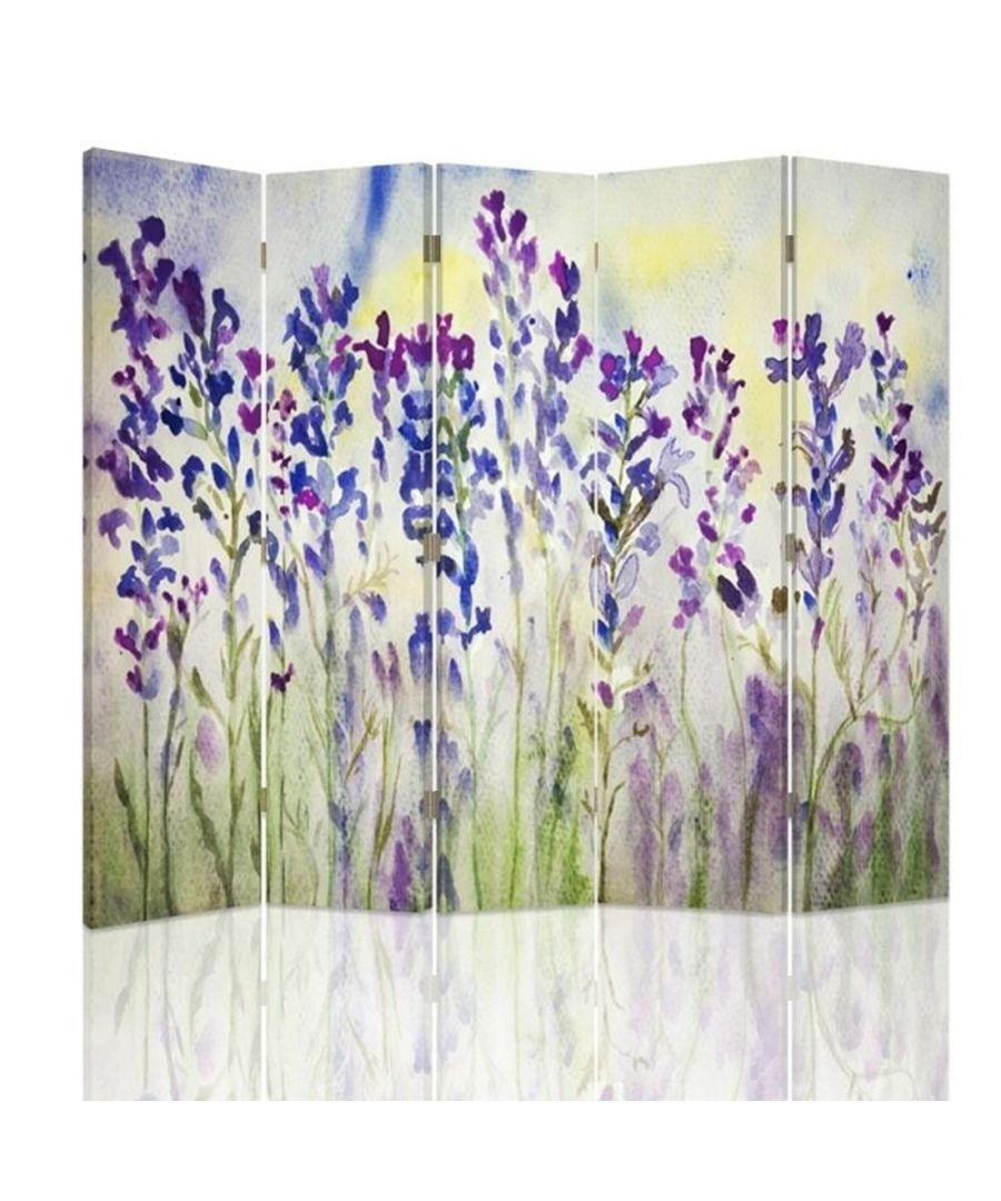 Image for Lavender Watercolour - Room Divider