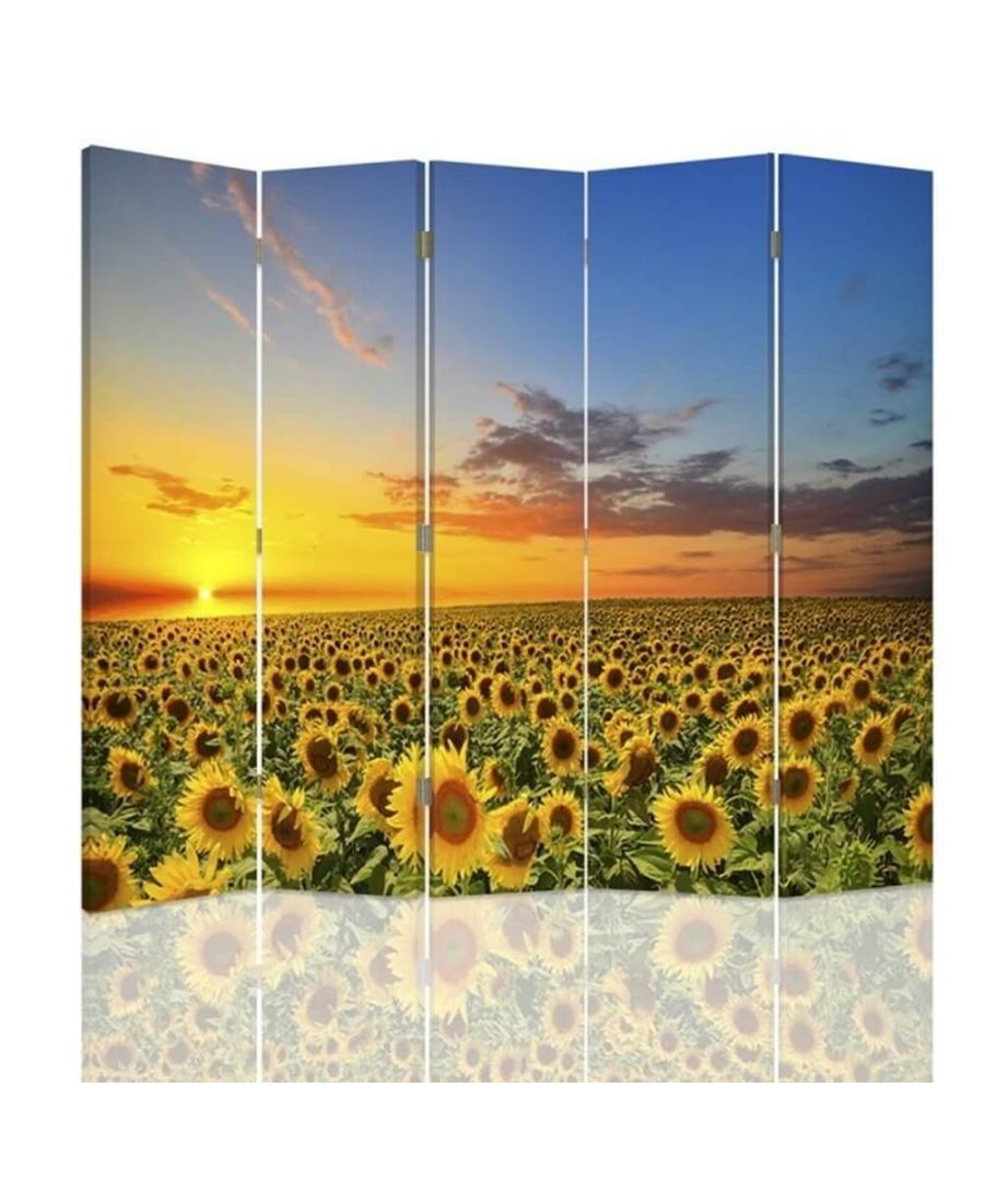 Image for Sunflower Sunset - Room Divider