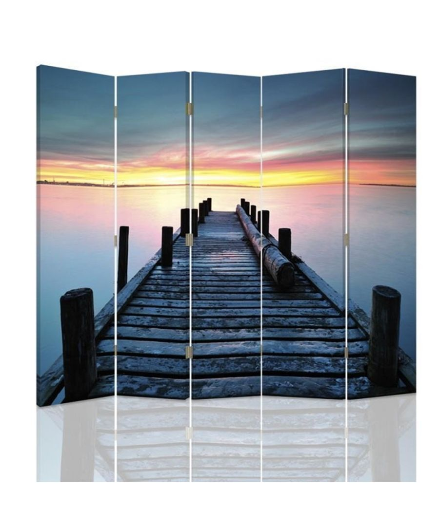 Image for Sunset Pier - Room Divider