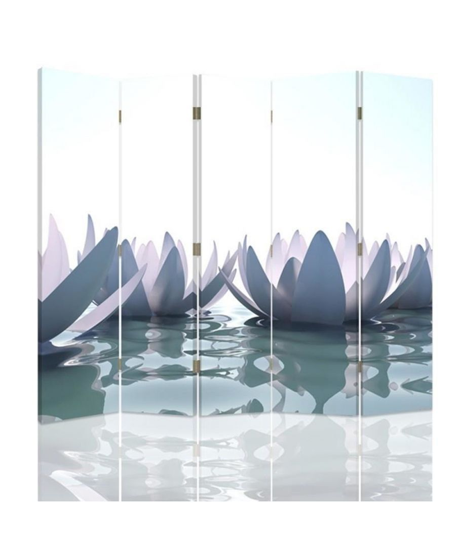 Image for White Lilly - Room Divider