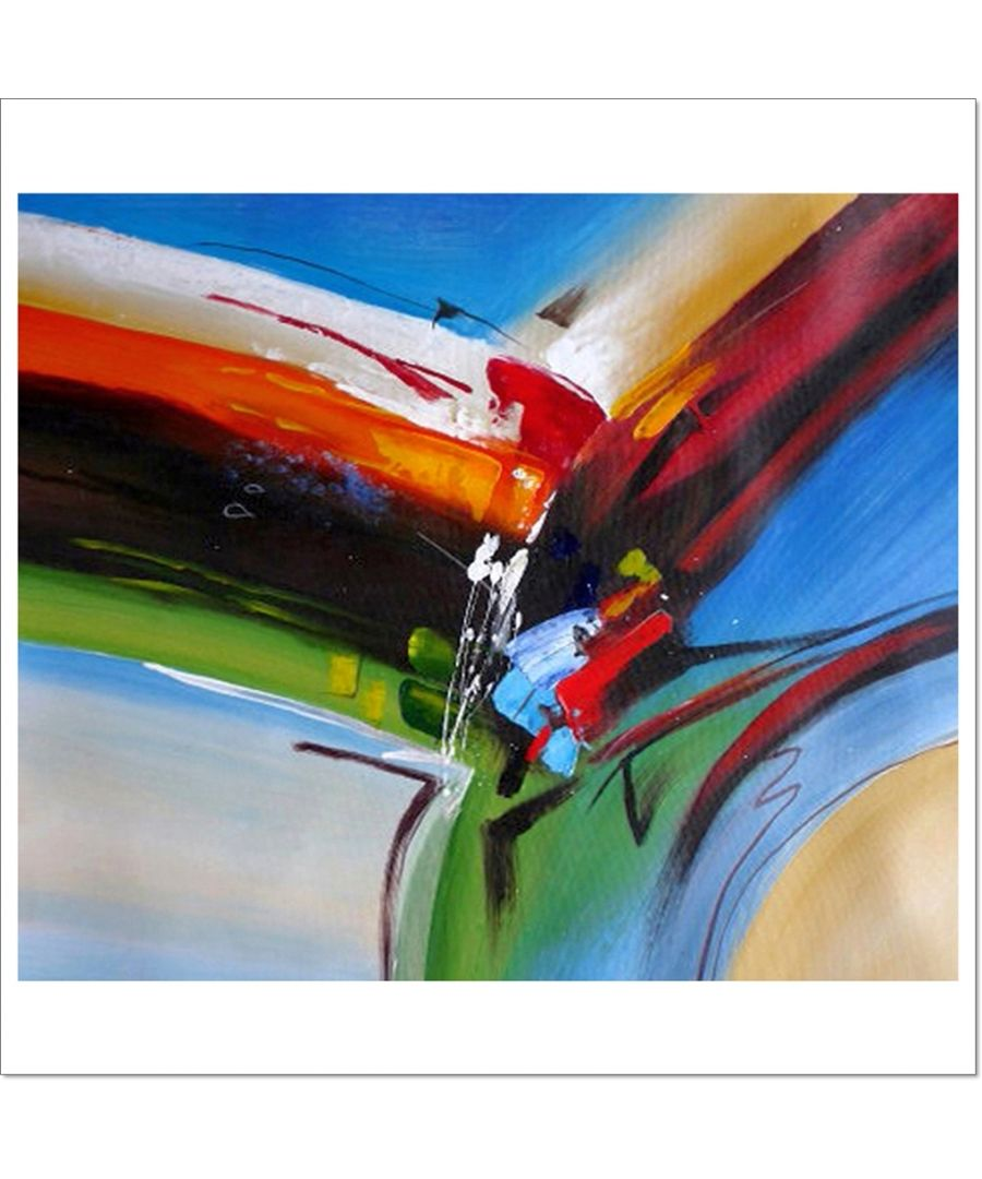 Image for Oil Painting - Brushstrokes At A Crossroads Cm. 50x60